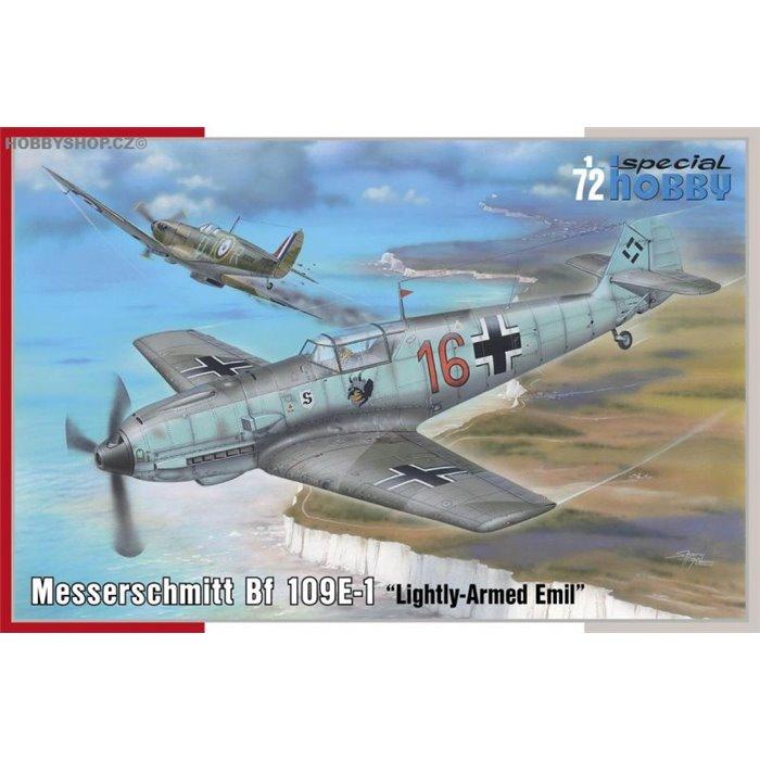 Messerschmitt Bf 109E-1 'Lightly-Armed Emil' - 1/72 kit