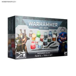 Warhammer 40000 Paints + Tools set