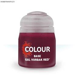 Base: Gal Vorbak Red 12ml