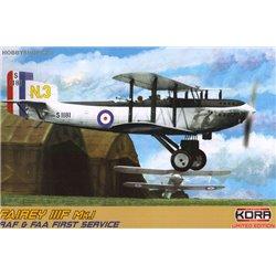 Fairey IIIF Mk.I RAF & FAA first service - 1/72 kit
