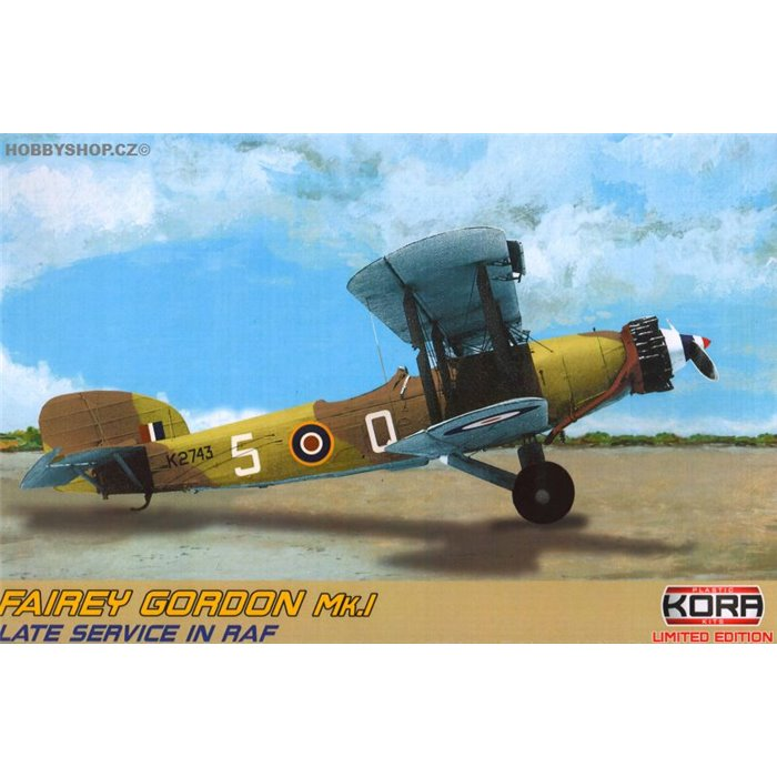 Fairey Gordon Mk.I late service RAF - 1/72 kit