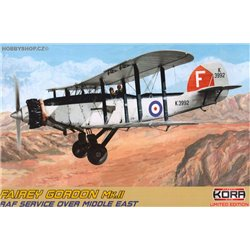 Fairey Gordon Mk.II RAF service over Mid east - 1/72 kit