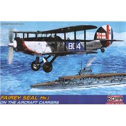Fairey Seal Mk.I FAA carrier service - 1/72 kit