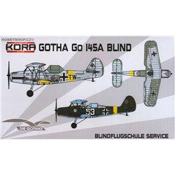 Gotha Go-145A Blindtrainer - 1/72 kit