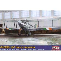 Fairey IIIF Mk.II&Mk.IVM/A Ireland, Egypt, Russia - 1/72 kit