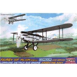 Fairey IIIF Mk.IIIM (Special) Corsair Argentina - 1/72 kit