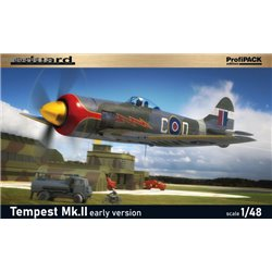 Tempest Mk.II early version - 1/48 kit