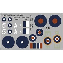 Grumman Hellcat - 1/72 decal
