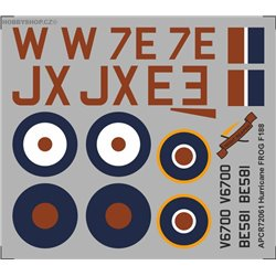 Hawker Hurricane - 1/72 obtisk