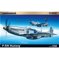 P-51K Mustang ProfiPack - 1/48 kit