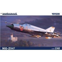 MiG-21MF Weekend - 1/48 kit