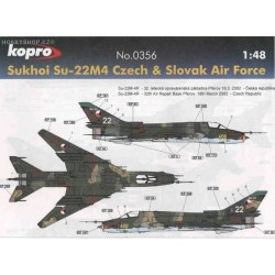 Su-22M-4 Czech & Slovak A.F. - 1/48 decal