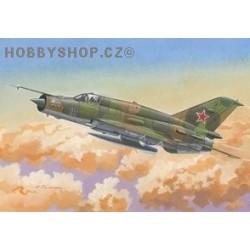 MiG-21SMT - 1/144 plastic kit