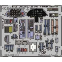 F-100D interior S.A. - 1/48 painted ZOOM PE set