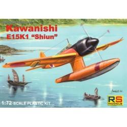 Kawanishi E15K1 Shiun prototype - 1/72 kit