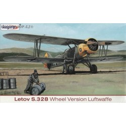 Letov S-328 Luftwaffe - 1/72 kit