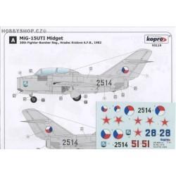 MiG-15UTI Midget - 1/72 decal