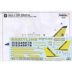 Aero L-39C Albatros Breitling - 1/72 decal