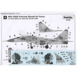 MiG-29AS Slovak Digital 0921 - 1/72 decal