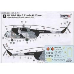 Mi-9 Hip G Czech A.F. & Luftwaffe - 1/72 decal