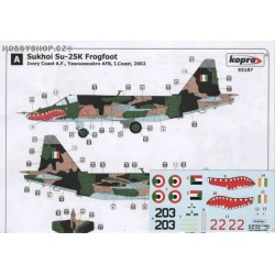 Su-25K African Frogfoot - 1/72 decal