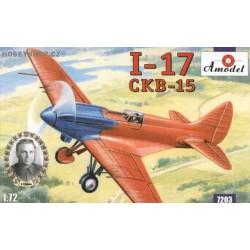Polikarpov I-17 - 1/72 kit