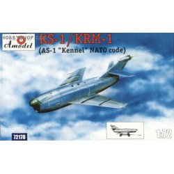 KS-1/KRM-1 (AS-1 Kennel) Guided Missile - 1/72 kit