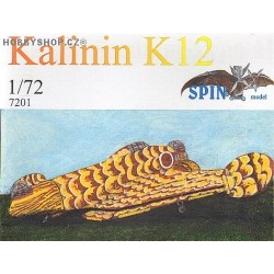 Kalinin K-12 - 1/72 resin kit