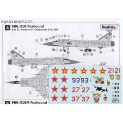 MiG-31B Foxhound - 1/72 decal