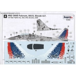 MiG-29AS Fulcrum Digital camo - 1/48 decal