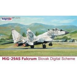 MiG-29AS 0921 Slovak Digital - 1/72 kit