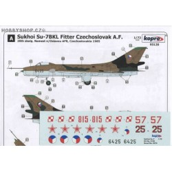 Su-7BKL Fitter Warsaw Pact - 1/72 decal
