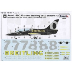 L-39C Breitling Jet Team 2010 - 1/72 decal