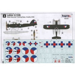 Letov S-328 Czech & Slovak A. F. - 1/72 decal