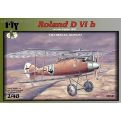 Roland D.VIb w/Benz Bz.III engine - 1/48 kit