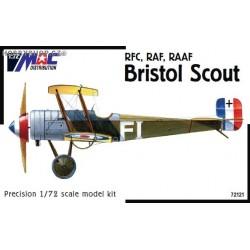 Bristol Scout 'RFC, RAF, RAAF' - 1/72 kit