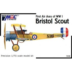 Bristol Scout 'First Air Aces of WWI' - 1/72 kit
