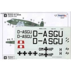 Siebel Si 204A Luftwaffe - 1/72 decal