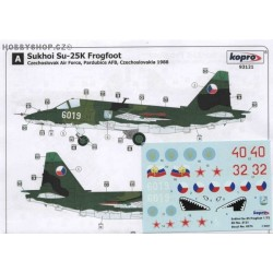 Su-25K Frogfoot - 1/72 decal