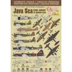 Java Sea - 1/72 decal