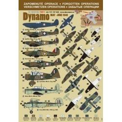 Operation Dynamo - 1/72 decal