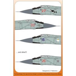 MiG-31 Foxhound - 1/72 decal