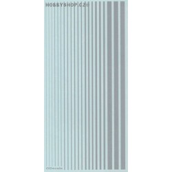 Light Gull Grey (F.S.36440) Slim Strips