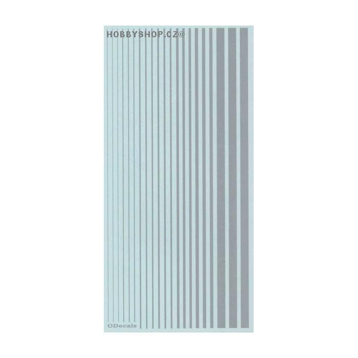 Light Gull Grey (F.S.36440) Slim Strips