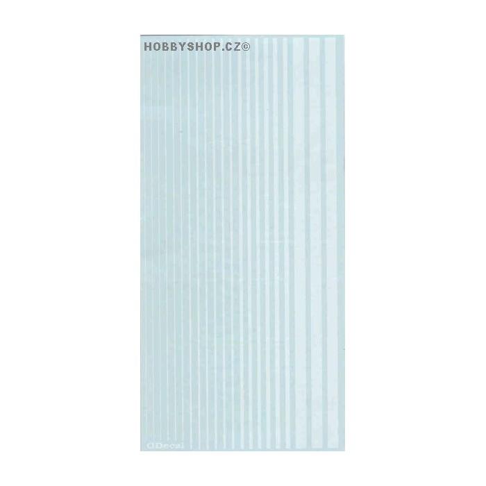 Insignia White (F.S.17875) Slim Strips