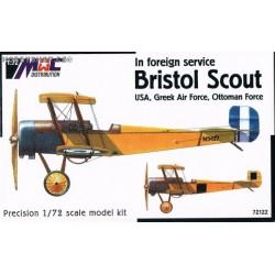 Bristol Scout 'USA, Greek AF, Ottoman AF' - 1/72 kit
