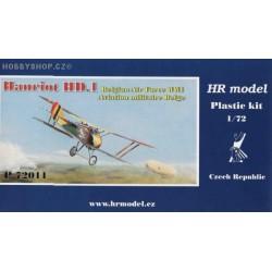 Hanriot HD.1 Belgian A.F. - 1/72 kit