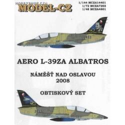 L-39ZA 40th anniversary of the first flight - 1/48 decals