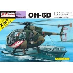 Kawasaki OH-6D 2-in-1 - 1/72 kit