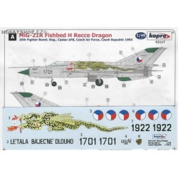 MiG-21R Recce Dragon - 1/48 decal